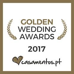 Vencedor Golden Awards  2017 casamentos.pt
